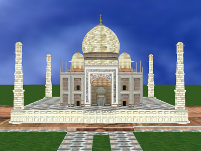 VirtualTaj Screenshot